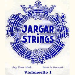Jargar 4/4 Cello G String Medium Silver